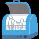 食洗機は狭くても置ける!!たためる水切りを使って調理スペースを確保